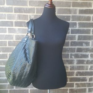Neiman Marcus Vegan Leather Hobo Bag